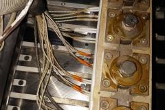 Macchina taglio nastri cinture di sicurezza